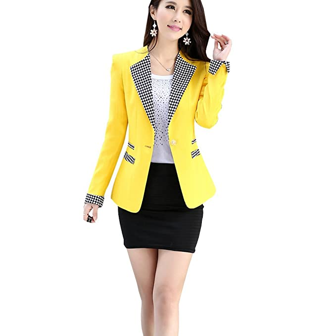 Aro Lora Women's Long Sleeve Jacket Double Notch Lapel Sharp Slim Pleated Blazer US 10-12 Black