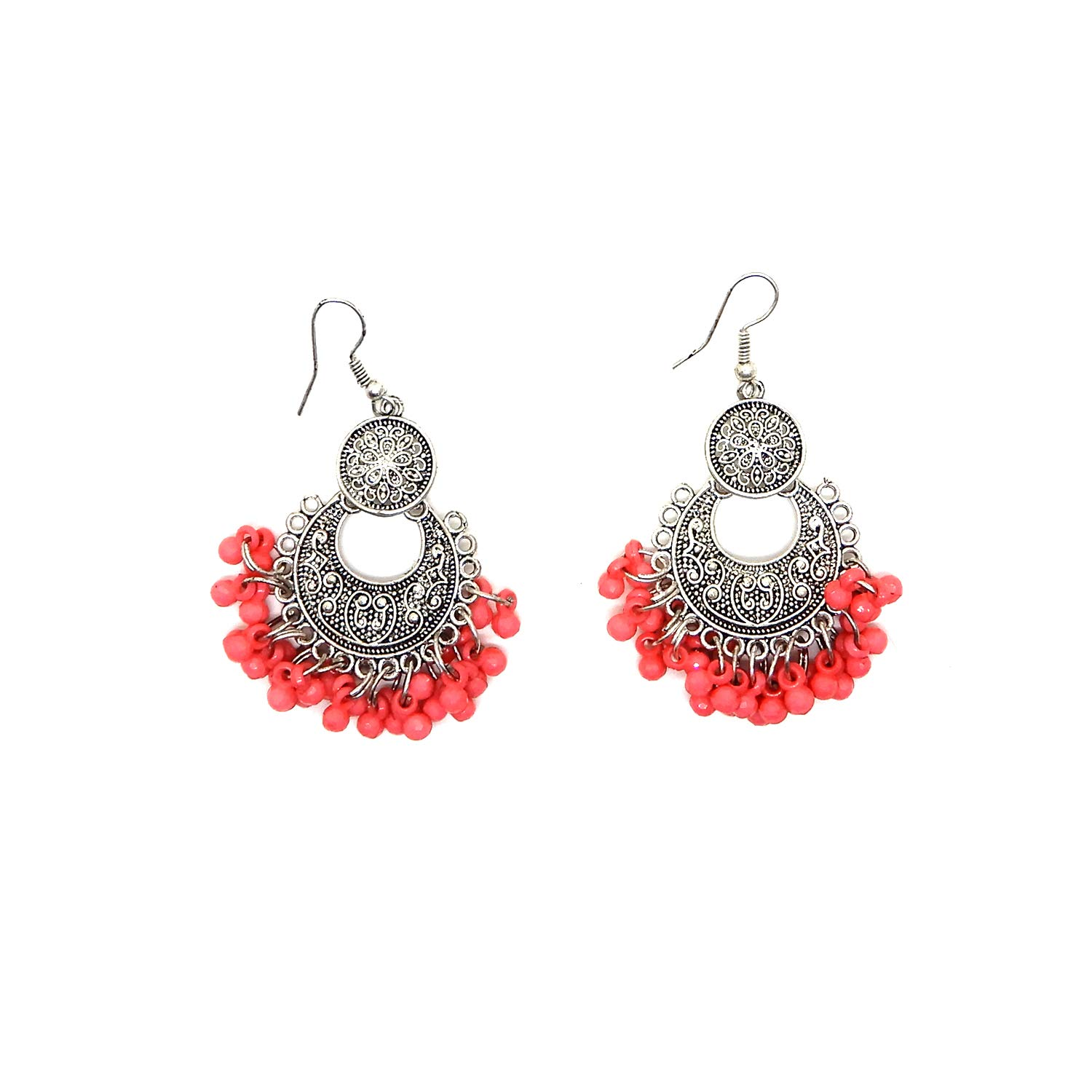Birthday Gift 2Inch Starnk Fashion Afgani Dangler Chandbali Earrings fro gilrs//women Traditional Earrigns for Party//Festive use Anniversary Gift