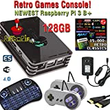 Raspberry Pi 3 Model B+ (B Plus) based retropie retro games emulation system - 32GB edition
