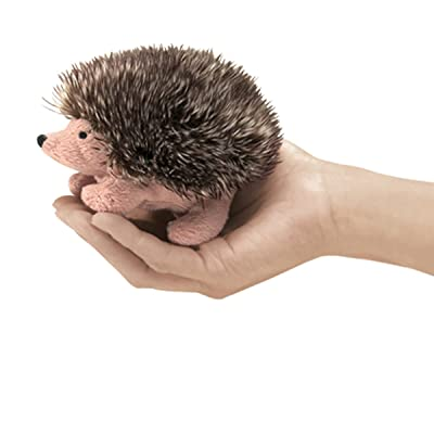 Folkmanis Mini Hedgehog Finger Puppet: Toys & Games