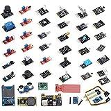 VKmaker T30 High-quality 45 in 1 Sensors Modules Starter Kit for Arduino, better than 37-in-1 sensor kit