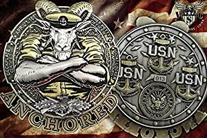 US Navy Chief Seabee Coin from Vision Strike Coins