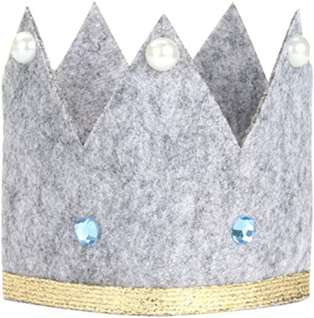 Bestoyard Cartoon Fabric Child Crown Hat Birthday Hat Grey Amazon Co Uk Kitchen Home Download clker's cartoon crown clip art and related images now. amazon co uk
