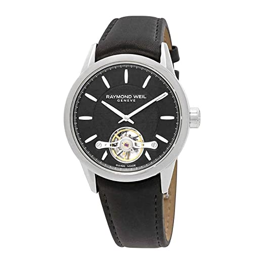 Reloj Automático Raymond Weil Freelancer, 43,5 mm, Cronógrafo, Plata, Día: Amazon.es: Relojes