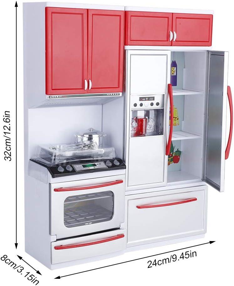 Cucina moderna in plastica per bambini, Mini cucina finta