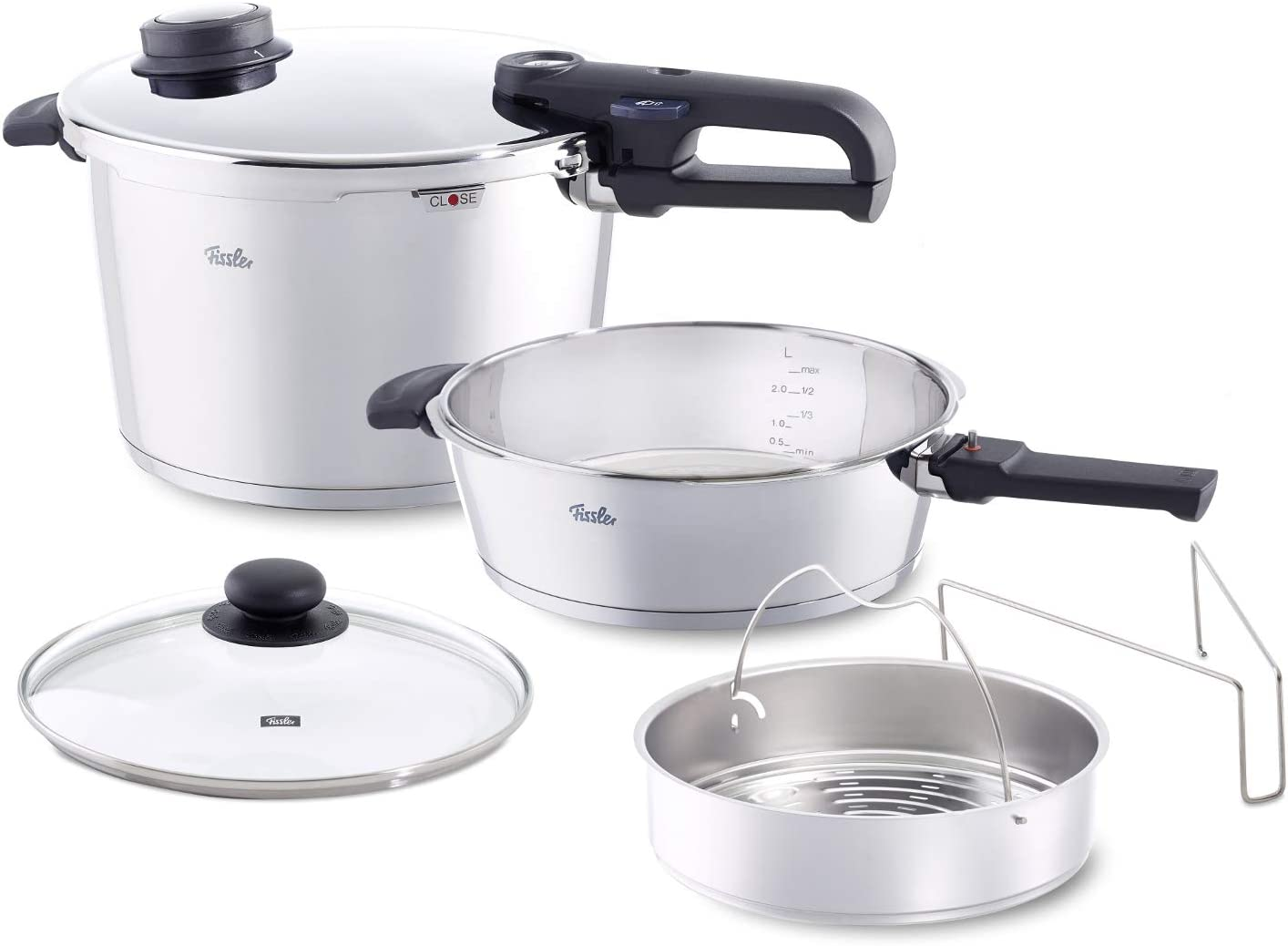 Fissler Vitavit Premium Stainless Steel Pressure Cooker
