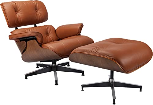 Lounge Chair and Ottoman Mid Century Chair Premium Replica Classic Furniture