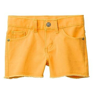 Style Fray Shorts 4T, Yukon Gold Evacindy Girls Sonoma Life