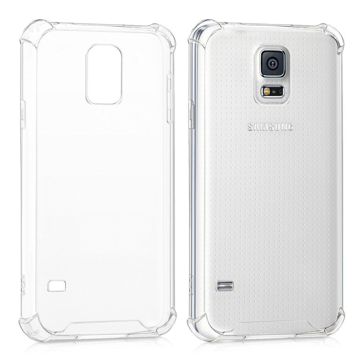 kwmobile Funda Transparente para Samsung Galaxy S5 / S5 Neo ...