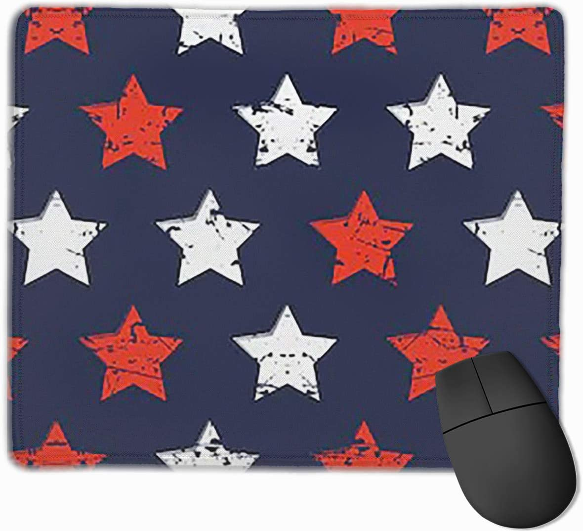 2530 Joyce-life Hand Drawn Pattern Mouse Pads for Computers Laptop Non-Slip Rubber Base Stitched Edge Waterproof Office Mouse Pad Office Gaming Computer at Home Or Work Size