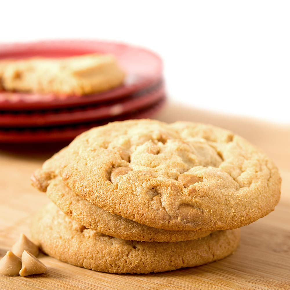 Davids Cookies Peanut Butter Cookie Dough, 1.33 Ounce -- 240 per case. by David's Cookies (Image #1)