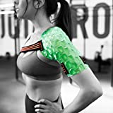 KOOL'N FX Hot & Cold Therapy, Reusable Shoulder & Arm Gel Pack with Adjustable Straps - Great for Sports Injuries, Rotator Cu