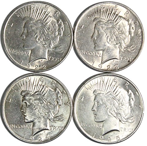 1922-1925 Peace Silver Dollar About Uncirculated