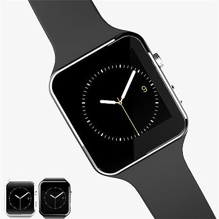 Smartwacth Bluetooth Smart Watch X6 Smartwatch Reloj Deportivo aleación de Titanio de Zinc Desgaste Inteligente para Apple iPhone teléfono Android con ...