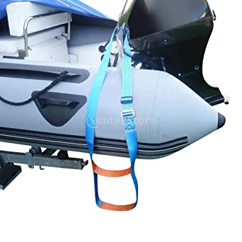 Flyastar Inflatable Boat Rib 3 Step Boarding Ladder Wakeboard Yacht Equipment fit Kayak Motorboat Canoeing