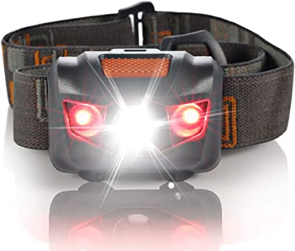 Outdoor Fishing Camping Headlights Adjustable Elastic Head Strap Flashlight New