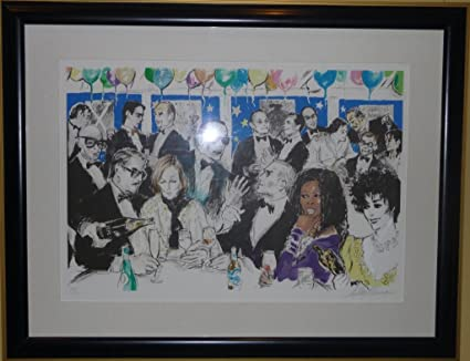 Amazon.com: Celebrity Night at Spago by LeRoy Neiman: LeRoy ...