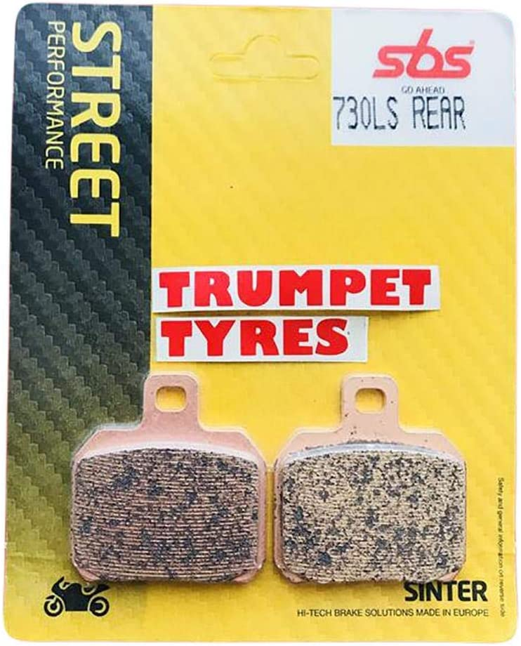Aprilia RSV 1000 Mille 97 98 99 00 01 02 03 SBS Performance Rear Fast Road Sintered Sinter Brake Pads Set Genuine OE Quality 730LS