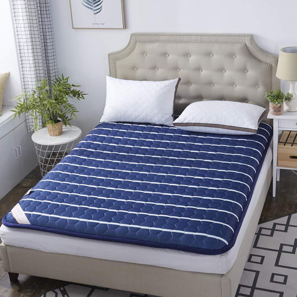 E 90x200cm(35x79inch) Folding Floor Sleep Tatami Mattress Mattress with Four Seasons,Single Double Student Dormitory Home Mattress-a 100x200cm(39x79inch)