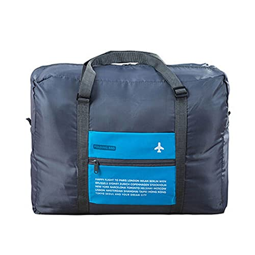 8e409c7c80ab INVODA Travel Bag Foldable Bag for Sports Gym Water Resistant Bag Nylon  Duffle Bag for Men