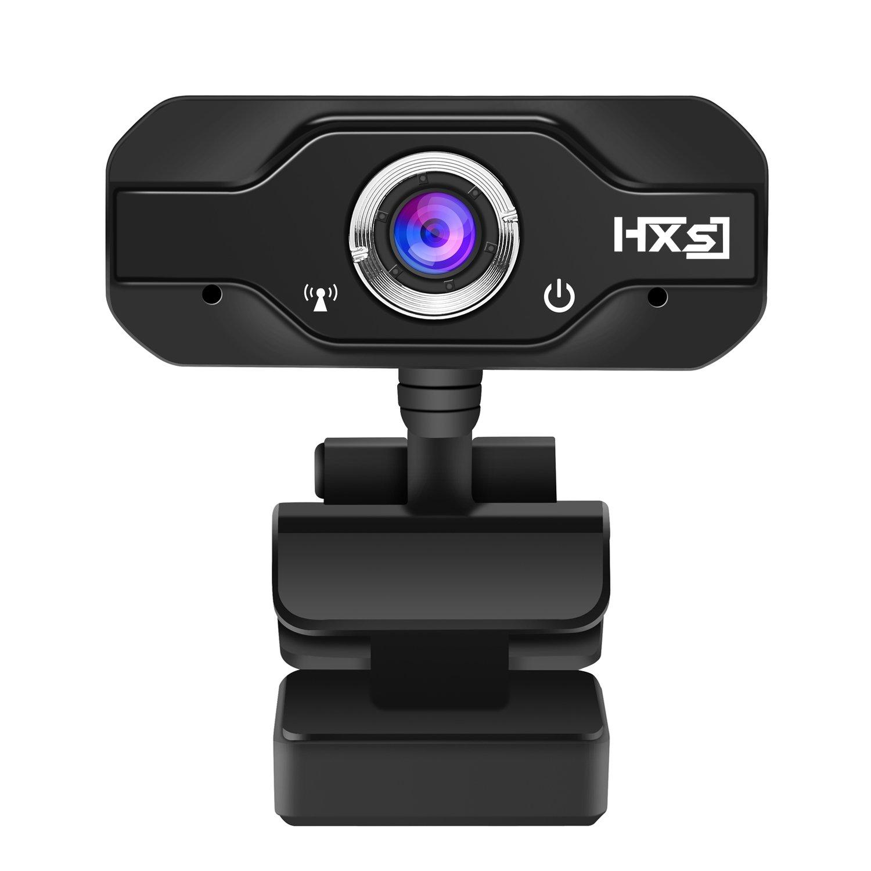 720P HD Wide Angle Webcam PC Camera with USB Plug and Play