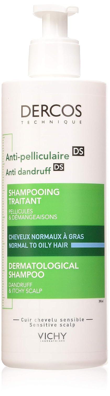 Vichy, Champú anti-caspa Decros Technique (cabellos norma/graso) - 390 ml.