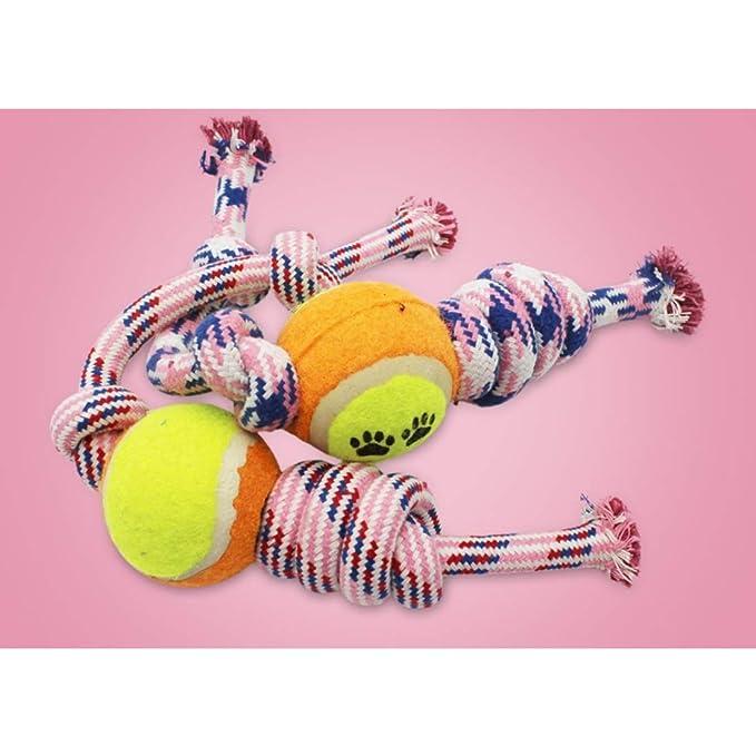Anglayif Juega Toy Dog Rope for Perros medianos y Cachorros ...