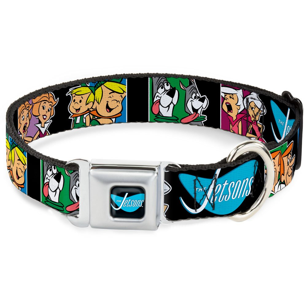 1.5\ Buckle-Down DC-WJS003-WL Dog Collar Seatbelt Buckle, The Jetsons Character Panel Expressions, 1.5  by 18-32