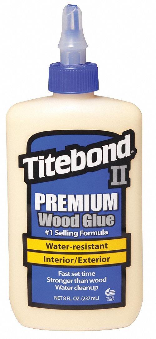 Wood Glue, Premium, Exterior, 8 Oz, Cream - 1 Each