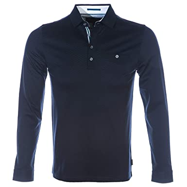 0dbb0c92dfc9a8 Ted Baker Polo Shirt FRUITPA Mens Navy TOP  Amazon.co.uk  Clothing