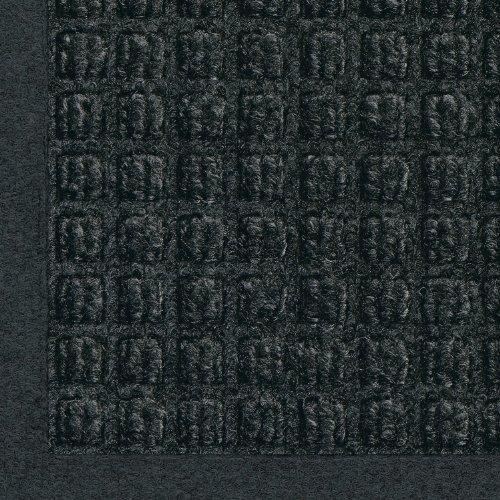 Andersen 280 WaterHog Fashion Polypropylene Fiber Entrance Indoor/Outdoor Floor Mat, SBR Rubber Backing, 116'' Length x 35'' Width, 3/8'' Thick, Charcoal by Waterhog