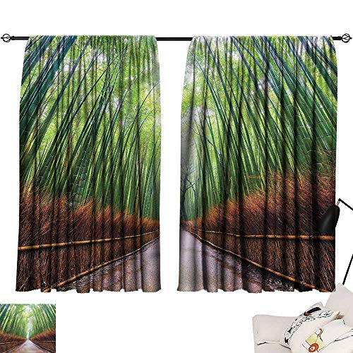 Long Curtains Japanese,Bamboo Foliage in Kyoto 72