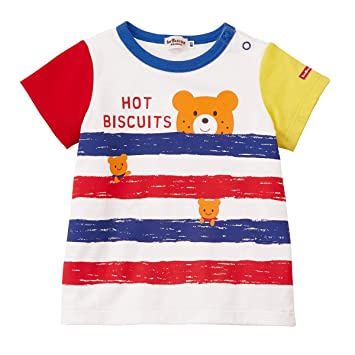 Tシャツ 72-5212-454 100cm ピンク (MIKIHOUSE HOT BISCUITS) ミキハウス ホットビスケッツ