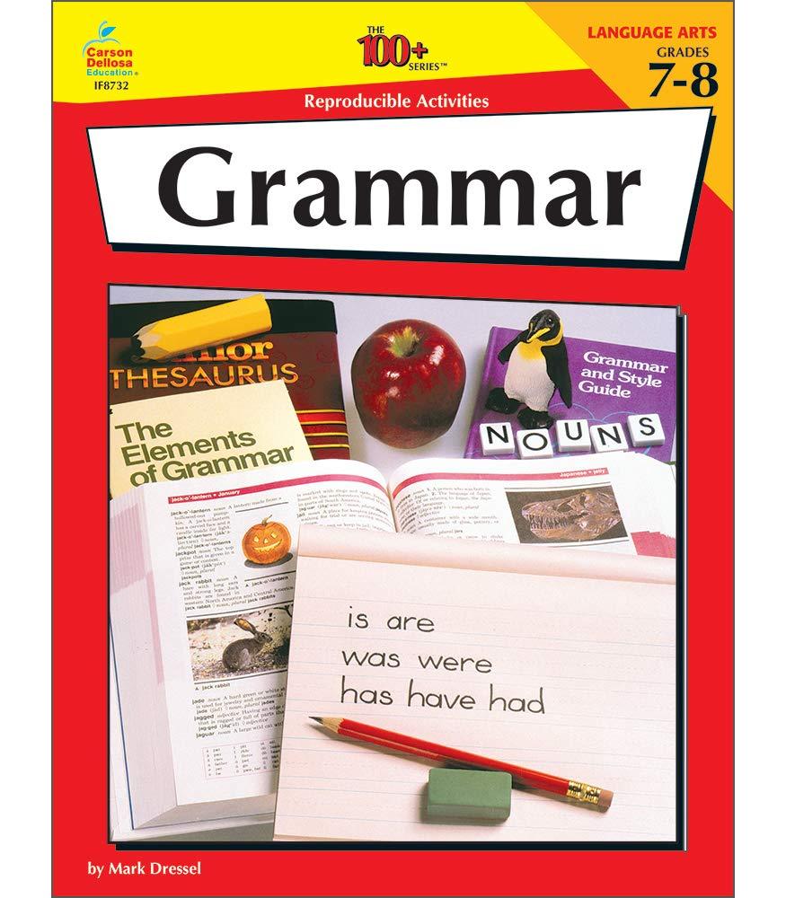 - Amazon.com: Grammar, Grades 7-8, 100 Reproducible Activities