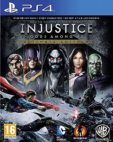 Injustice: Gods Among Us - Ultimate Edition: Amazon.es: Videojuegos