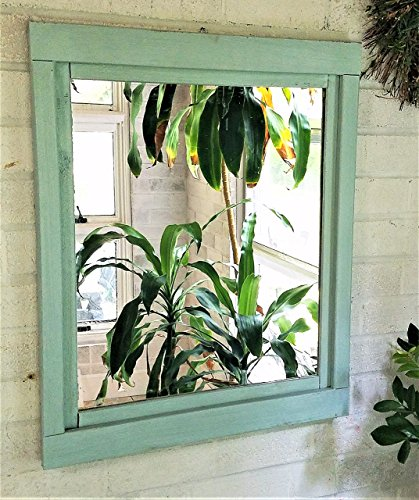 Renewed Décor Farmhouse Mirror in 20 paint colors - Large Wall