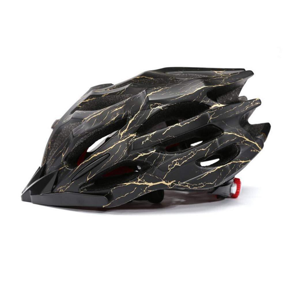 ヘルメット 自転車ヘルメット、ロードマウンテンバイク安全キャップバイクレーシングヘルメット調節可能な軽量一体型成人スポーツヘルメット L l C B07Q1WTNTN