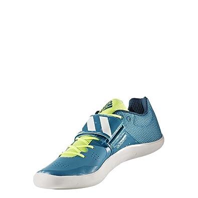 adidas Adizero Discus/Hammer, Chaussures de Running Mixte Adulte - Différents Coloris - Multicolore (Petmis/Ftwbla/Petnoc), 44 EU