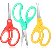 Left Handed Stainless Steel Scissors 6 Inch Lefty Soft Grip Office Scissors Craft Pointed Shears Scissors for Office…