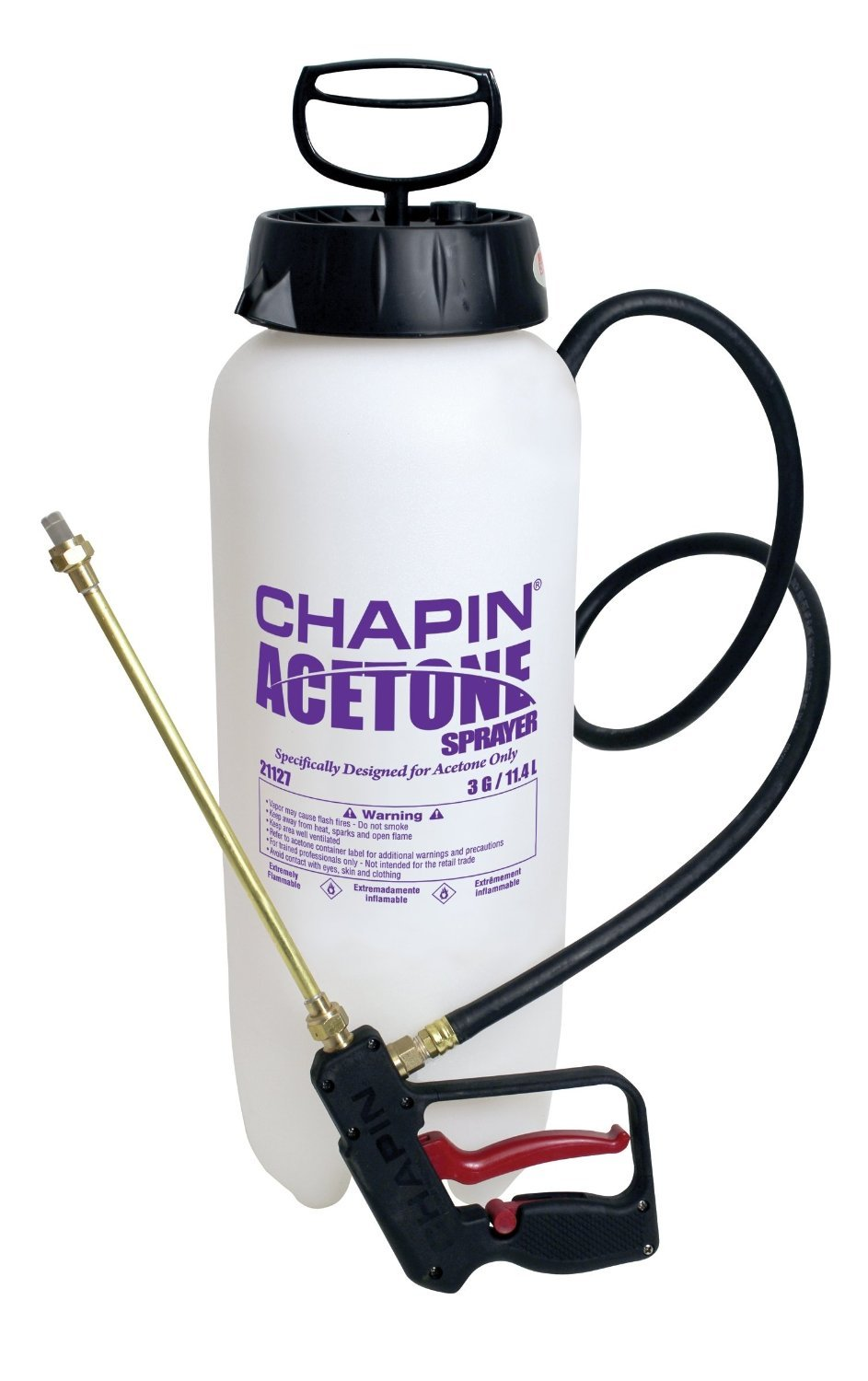 Chapin Acetone 3 Gallon Sprayer with Dripless Shut-off (21127XP)
