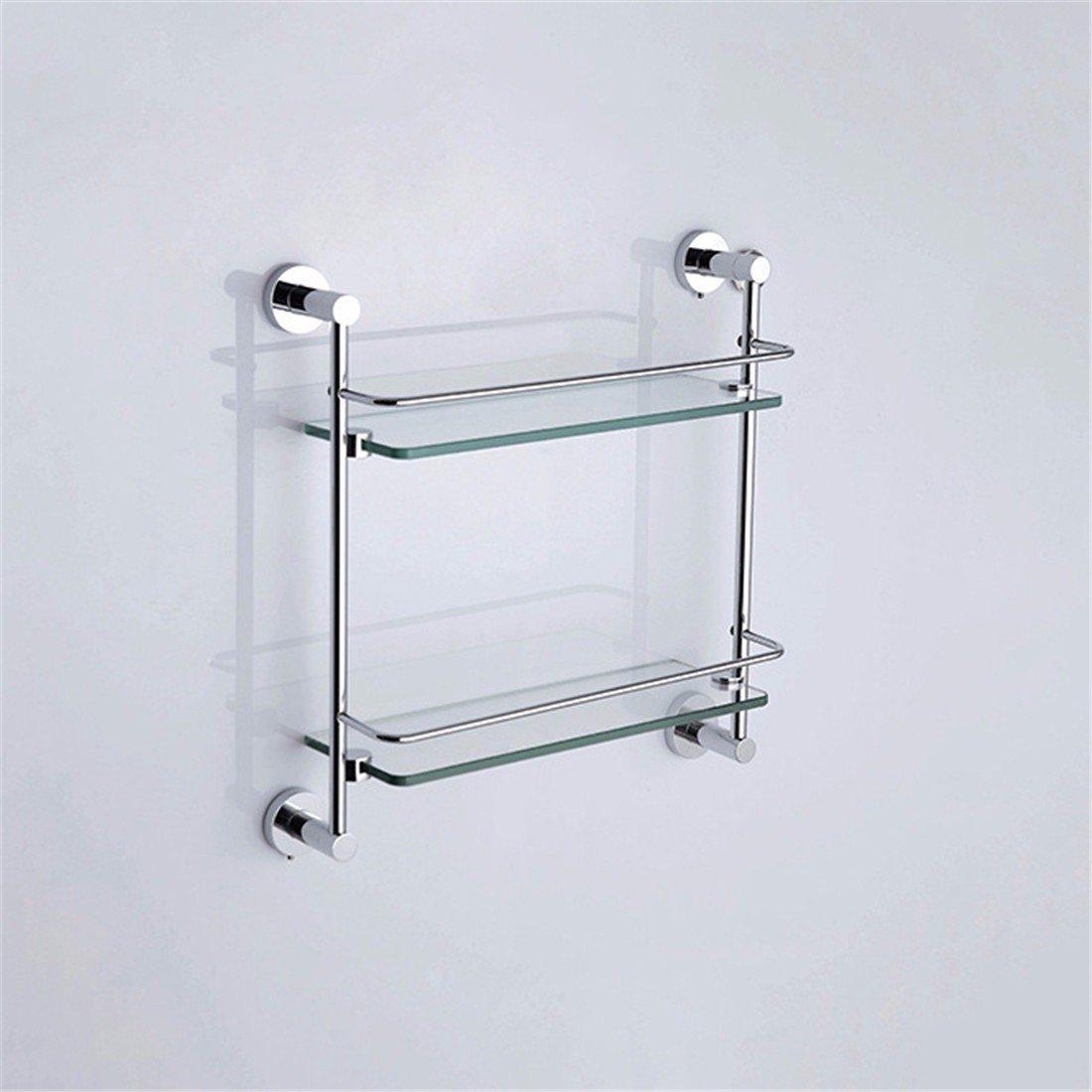 LAONA European contemporary all copper chrome plated round base, bathroom pendant set, toilet paper rack, rack,Rack 2