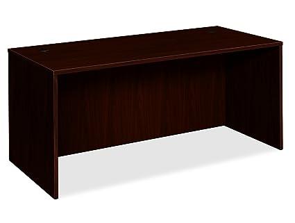 HON BL Laminate Series Office Desk Shell   Rectangular Desk Shell, 66w X  30d X