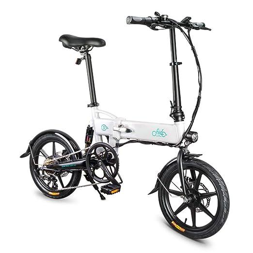 popchilli Bicicleta Plegable Eléctrica Ligera FIIDO D2 / D2S para ...