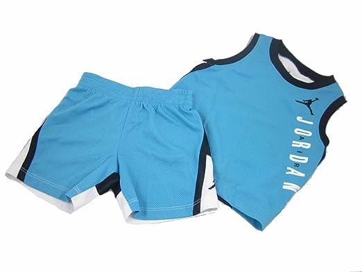 plus récent 08729 b0db8 Nike Air Jordan bébé garçon Basket-Ball Jersey Gilet et ...