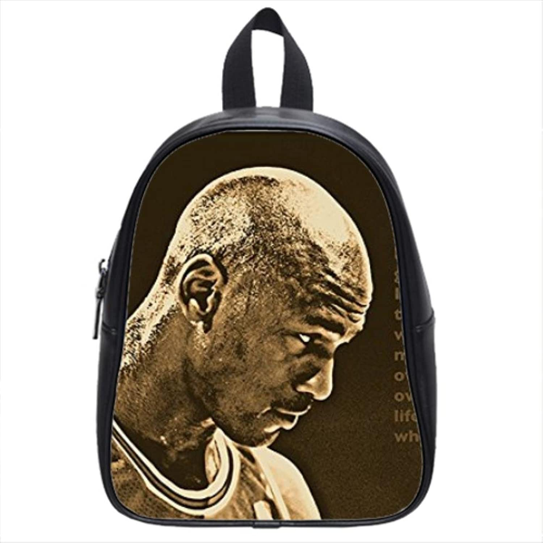 SUCCESS QUOTE photo MICHAEL JORDAN basketball great SPORTS FAN Custom School Bag(Large)
