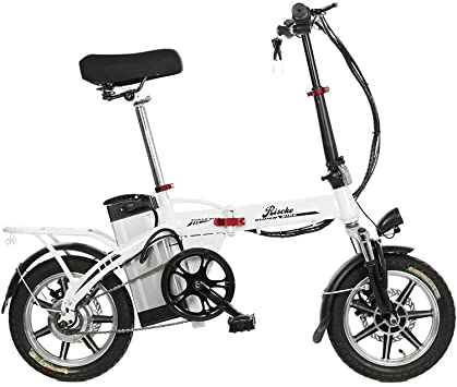 Riscko Bicicleta Eléctrica Plegable Volt Batería 10,4 Bep-48 ...