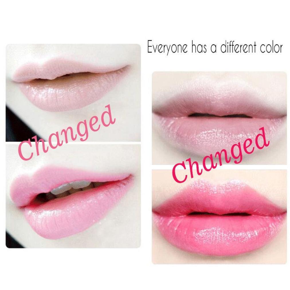 Lanhui Art Beauty Bright Flower Crystal Jelly Lipstick Magic Temperature Change Color Lip Balm Makeup A