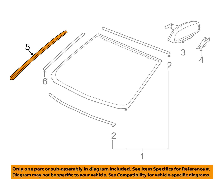 Genuine Gm Molding Part 92212084 Automotive Ponac G8 V8 Engine Diagram