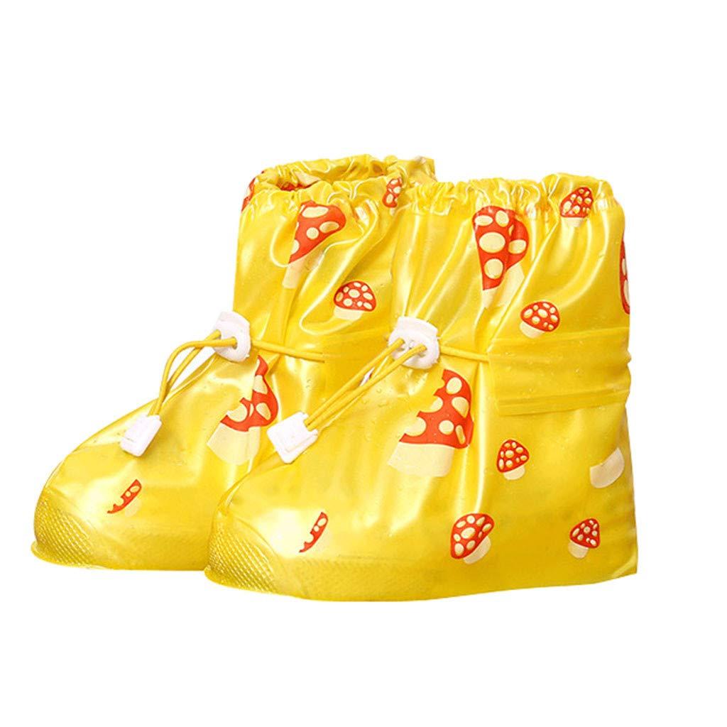 Couvre-chaussures Imperm/éable Filles Surchaussures Pluie Neige R/éutilisable Antid/érapante Semelles Botte Gu/être R/églable Couverture de Chaussures