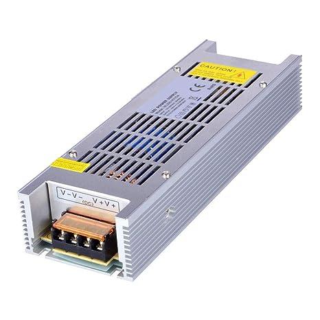 Dapenk Tamaño de tira interior Aluminio Caja Fuente de alimentación LED Unidad NL 300W PSU 24V